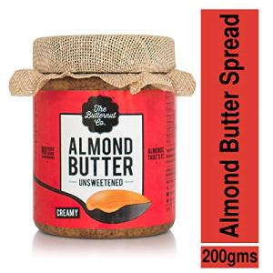 The Butternut Co. Unsweetened Almond Butter - Creamy 19  The Butternut Co. Unsweetened Almond Butter – Creamy 51CsarnhE6L