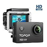 Action Cam Full HD 1080P, 12MP, 170° Grandangolare, Action Camera 2 Pollici Display Action Camera Sport, 30M Impermeabile, 26 Pezzi Accessori, Video Full HD a 1080P e 30 fps , Video Camera Perfetto per Sport Esterni