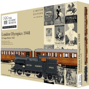 Hornby R2981 London 2012 1948 Games 00 Gauge Limited Edition Train Pack 51D 7lSBuML
