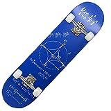 HKANG® Monopatín de Doble kicktail para Principiantes de Osprey con Tabla de Madera de Arce, 80 x 20 cm,2