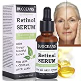 retinol Serum, con ácido hialurónico Serum, Vitamina E, mejor Serum Antienvejecimiento para...