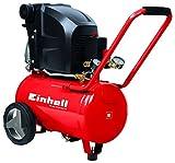 Einhell TE-AC 270/24/10 - Compresor de Aire (1.8 kW, 24 L, capacidad de admisión 270 l / min, 10...