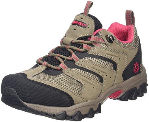 Hi-Tec Acacia II Womens Zapatillas de Deporte Exterior para Mujer, Beige (Taupe/Black/Rose 041) 37 EU