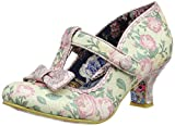 Irregular ChoiceLazy River - Scarpe con Tacco Donna, Rosa (Pink (Pink Floral)), 39