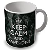 verytea Fun Tasse/Kaffeebecher Keep Calm and Vape On