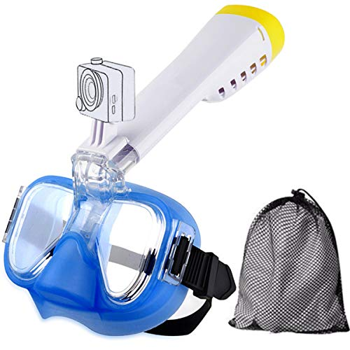 NOTENS immersioni maschera, maschera per immersioni Anti Fog Maschera per immersioni nuoto Training Scuba Panorama Ansicht con un adattatore per Action Cam