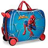Marvel Spiderman Black Bagage enfant 50 centimeters 39 Multicolore (Multicolor)