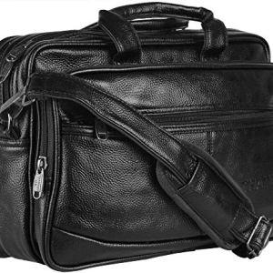 Thames Faux Leather 14 inches Laptop Messenger Bag/Sling Bag/Laptop Briefcase 9