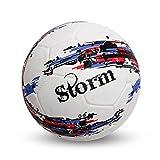 Nivia Storm Football, Size 5 (White)