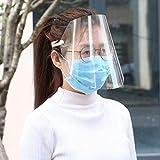 Danigrefinb Visor De Seguridad Antigotas Transparente A Prueba De Polvo Proteja La Cara Completa Pantalla De La Máscara Máscara Protector De La Cara