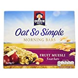 Quaker Oat So Simple Fruit Muesli Morning Bars, 35 g (Pack of 5)