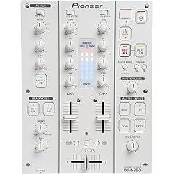 Pioneer DJM-350-W mezclador DJ - Mezclador para DJ (78 Db, 97 Db, 24 Bit, 0.007%, 18 W, 3.2 kg)
