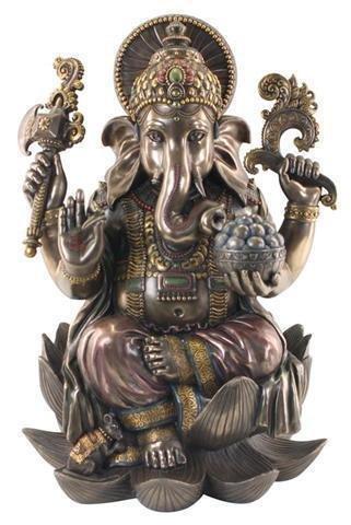 Figura Grande Resina Buda Resina 54x40 cm 3