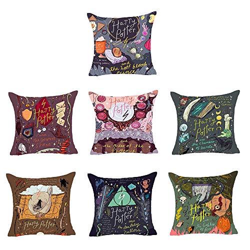 AISMOOD Harry Potter Sacro Graal Dolby Magia Arte Dipinta a Mano Creativo Cotone Hug Pillow Case per...