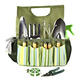 Plant Theatre Essential Garden Tool Bag - Includes Tools for the Gardener