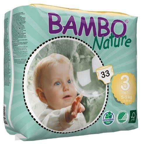 BAMBO NATURE 3 MIDI - Bambini di 5 a 9 kg - Scatola di 198 pannolini