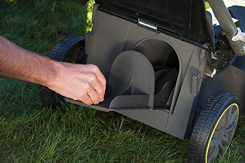 Ryobi RLM18X41H240 ONE+ 36V Fusion Cordless Lawnmower with 2 x 18V 4.0Ah batteries, 40cm Deck