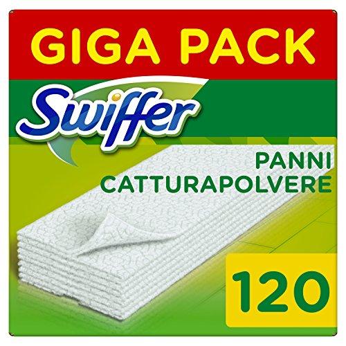 Swiffer Dry Panno Catturapolvere, 120 Pezzi