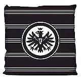 """Eintracht Frankfurt Kissen """"Black Eagle"""" in 38 x 38 cm"""
