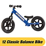 Strider 12 Classic No-Pedal Balance Bike (Blue)