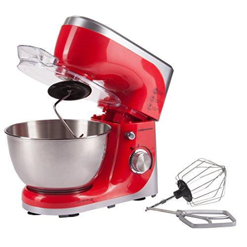 Ultratec 331400000689 Robot da Cucina con Recipiente in Acciaio Inox, Potenza 800 W, Rosso