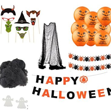 Halloween Decoration Creep Décoration Set avec plus de 30 pièces Plafonnier  Hanger Creeper guirlande 0babf49079b