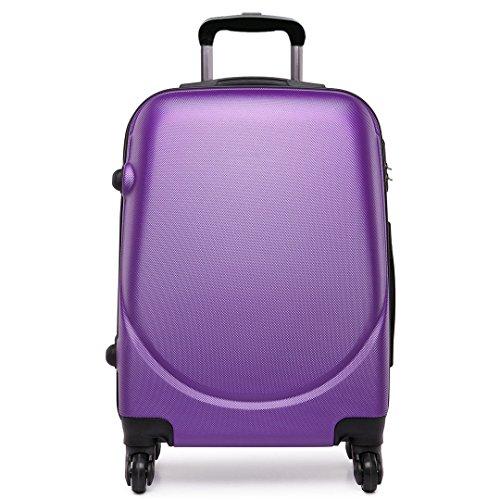 Kono Trolley in ABS, Bagaglio a Mano Compatibile Per Voli Come Unisex, Ideale come bagaglio a mano,...