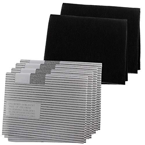 Spares2go filtro cappa Grease kit per Galvamet cucina Extractor fan Vent (4x grasso, 2x filtri a...