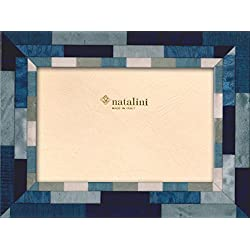 Natalini Mira Blu  B  A 13x 18Bilderrahmen, Holz/Glas Blau 23x 18x 1,5cm