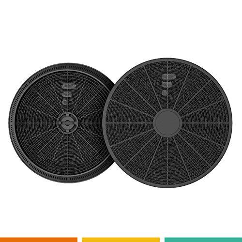 Fac FC05 - Filtro a carboni attivi per cappa da cucina - per Candy acm14 - Indesit D145 - Airlux...