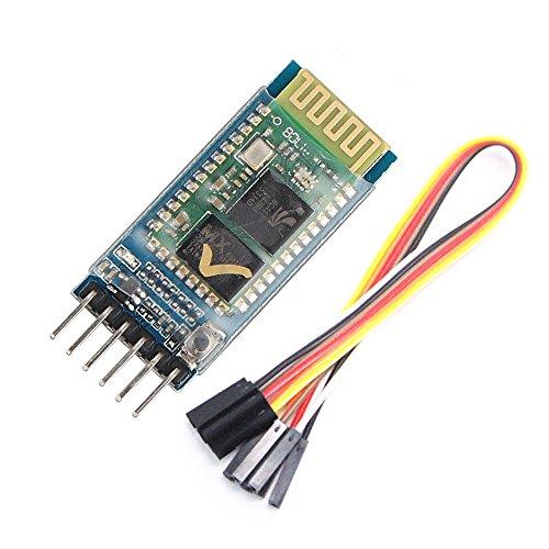 Specifiche del prodotto:1. Dimensioni PCB: 37.3mm (L) * 15.5mm(W)2. Peso: 3.5g3. Tensione in ingresso: 3.6V - 6V4. Potere anti-inverso, modulo inverso non funziona5. Porta a 6 pin: IT/VCC/GND/RXD/TXD/STATO (stato Bluetooth conduce ai piedi, n...