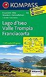 Carta escursionistica n. 106. Lago d'Iseo-Valle Trompia-Franciacorta: Wandelkaart 1:50 000