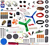 Kit4Curious NASA Tech Super Kit 100 items in a kit - Science & fun innovation Kit with instruction manual