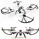 WayIn® JJRC H16 Nueva Versión Yizhan Tarantula X6 - 1 Drone 4 canales 2.4GHz LCD remoto Quadcopter de control con Hyper COI Modo Función Orientación (No Cámara) - negro