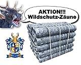50m BEST4FORST Wildzaun Forstzaun Weidezaun Drahtzaun Knotengeflecht 150/12/30