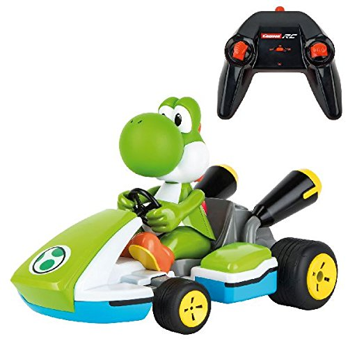Nintendo Mario Kart - Yoshi Race con sonido (Carrera RC 370162108)