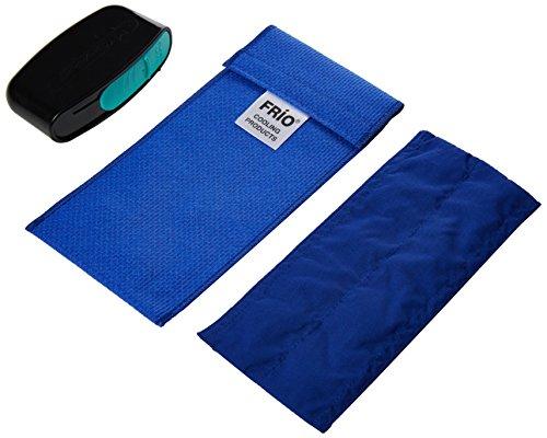 Frio Duo blu raffreddamento portafoglio con Sharps