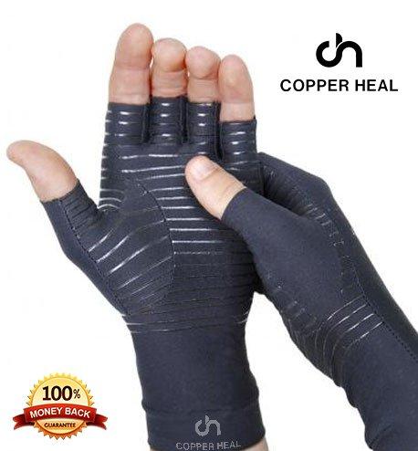 Rame Heal artrite Compressione Guanti–Best Medical Guanti garantisce Il Funzionamento di Rame...