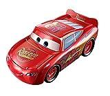 Disney Pixar Cars Grand Voiture Flash McQueen Grande Echelle, transformable en piste de course, jouet pour enfant, DVF38