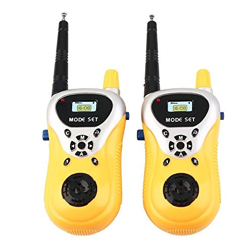 Magicwand Battery Operated Walkie Talkie Set for Kids with Extendable Antenna for Extra Range
