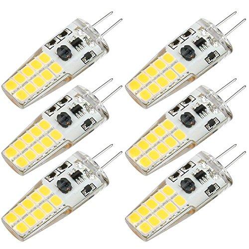 Kakanuo Lampadine LED G4 3W Equivalenti a 30W Bianco Caldo 3000K 300LM Non-Dimmerabile 360 Grado...