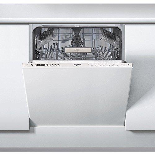 Whirlpool PH WIO3T1236P Lavastoviglie da Incasso Scomparsa Totale, Metallo, Bianco