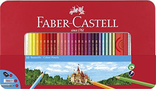 Faber-Castell 115894 Astuccio 60 Matite Colorate