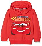 Cars CART27102, Sweat-Shirt à Capuche Garçon, Rouge (Red), 5 Ans (Taille Fabricant: 5 Ans)