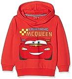 Cars CART27102, Sweat-Shirt àCapuche Garçon, Rouge (Red), 5 Ans (Taille Fabricant: 5 Ans)