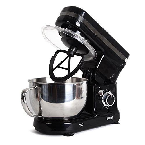 Duronic SM100 / BK Impastatrice elettrica Robot da cucina 450W Planetaria multifunzione in acciaio...