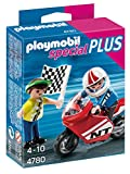 PLAYMOBIL Especiales Plus - Niños con Moto de Carreras, playset (4780)