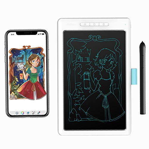 GXLO Scheda Grafica da 10 Pollici con Bordo di Scrittura USB Art Design Grafica Tablet con 8192 Pen...
