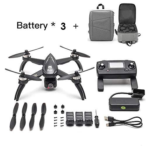 [Aggiornato] 2019 Nuovi bug MJX 5W RC Drone 8G 4K con 2160P Wifi FPV HD Camera-Follow Me, MT2204 2300KV MOTORE BRUSHLESS, MJX RC Quadcopter Drone