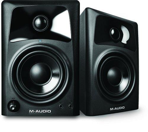 M-Audio AV 32, Casse Monitor Attive da Scrivania Biamplificate con Audio di Qualità, Ottimi per...